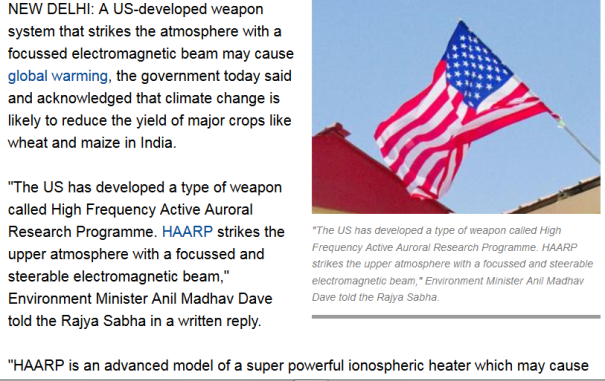 2016_US-developed weapon system may cause global warming_Government