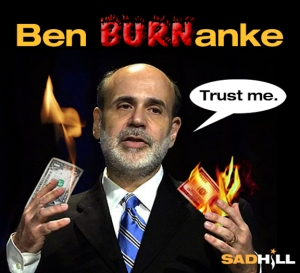 Ben Burnanke Central bank governor Liar extrodinaire