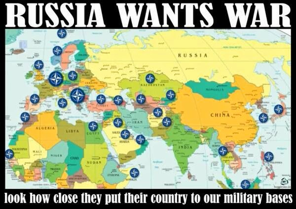 NATO says Russia Wants War