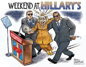 Weekend at Hillary's