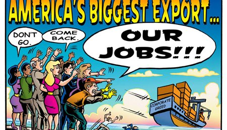 U.S. biggest export - jobs