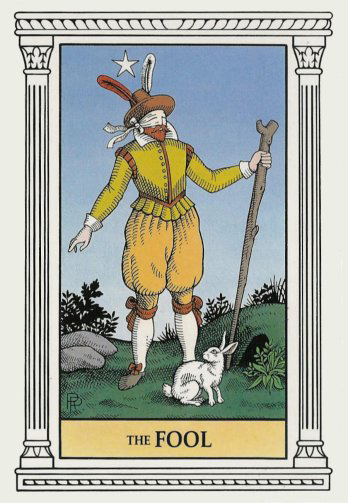 the-fool-with-white-rabbit