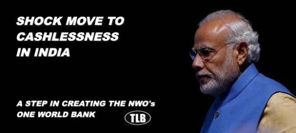 Globalists' Puppet: Modi's War On Cash