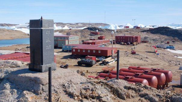Zhongshan station, Antarctica