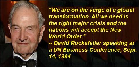 David Rockefeller, September 14, 1994.