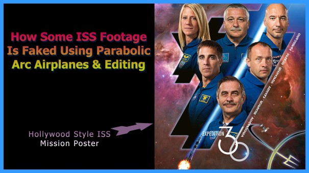 Another Faked ISS Clip From U.S. Government Agency NASA