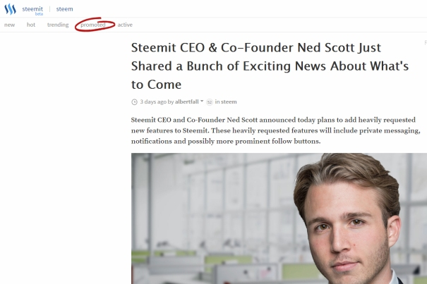 Ned Scott is the Founder and CEO of steemit