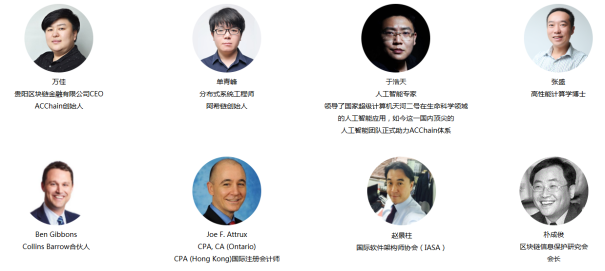 ACCHAIN blockchain team