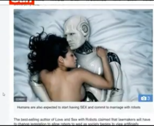 Bots for sex and marriage - advanced technology.