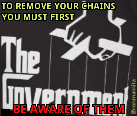 To remove your chains you must first be aware of them.
