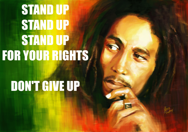 Stand up for your rights.