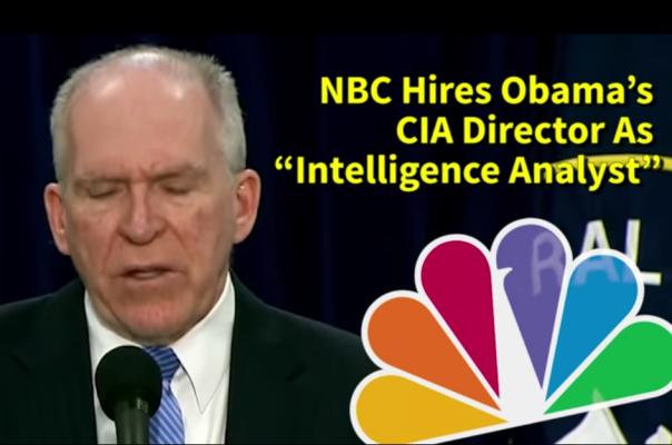 NBC hired CIA Director.