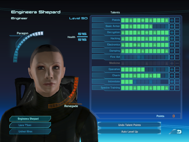 This is the playthrough for A engineer Shepard character completion of the first Mass Effect PC Game.