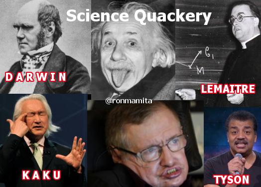 Quack science idols
