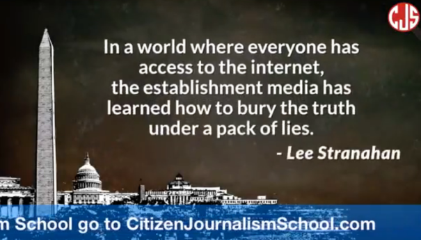 Citizen journalism school by Lee Stranahan