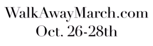 Peaceful March scheduled in Washington DC 26-28 October 2018