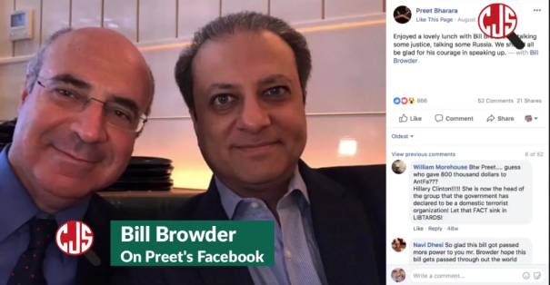 FBI corruption Bill Browder owns Prosecutor Preet Bharara