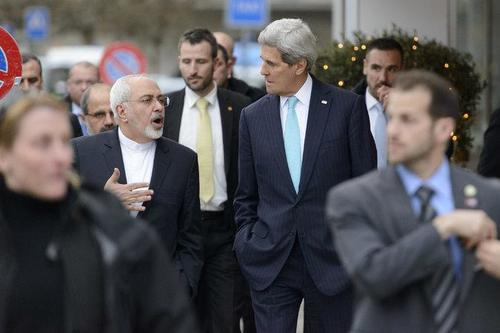 Back when Kerry was actually authorized to do this sort of thing as Secretary of State under Obama in 2015. Via the Iran Project - John Kerry now undermines the government to do illegal deals with Iran!
