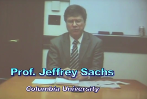 Banking & Economic Expert Jeffrey Sachs chastise the Federal Reserve for allowing corruption to destroy the U.S. system